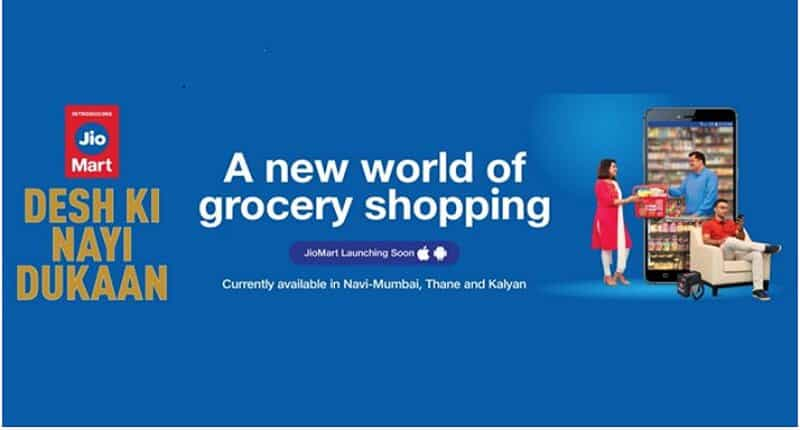 Reliance launched JioMart in India
