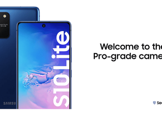 Galaxy S10 Lite features