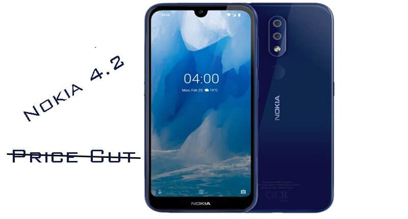 Price Cut for Nokia 4.2 in India