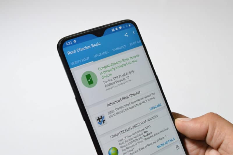 Rooting Oneplus 6 & 6T Running Oxygen OS 10
