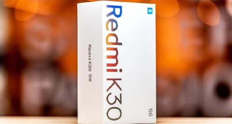 Official Retail Box Image of Redmi K30 5G revealed