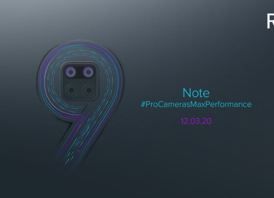 Redmi Note 9 launch on march 12