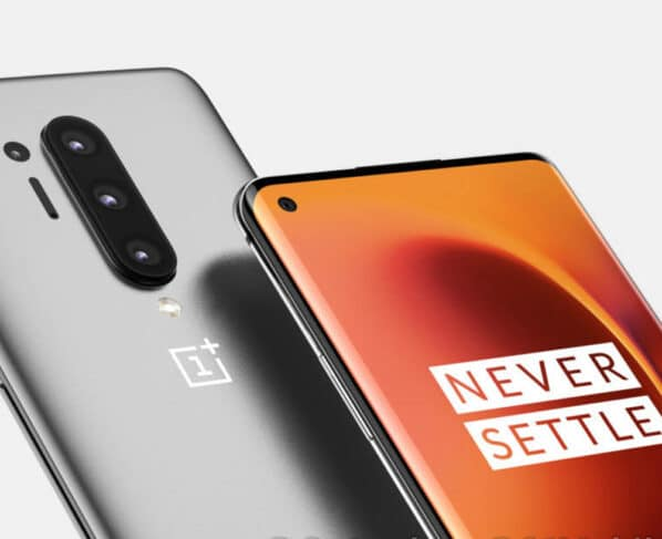 OnePlus 8 Pro Silicone Case Leaked