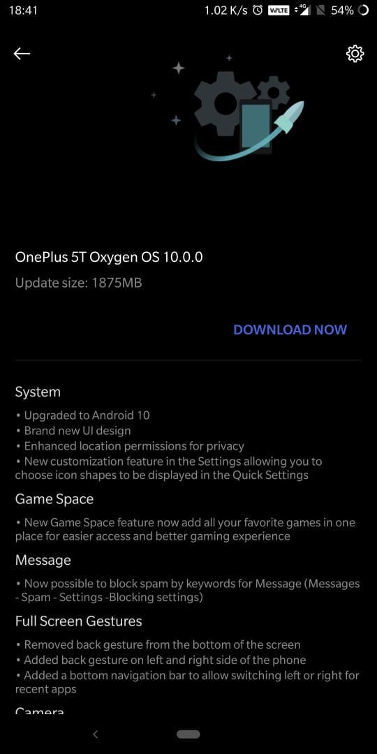 Oneplus 5&5T are getting stable Android 10 based on OxygenOS 10.0
