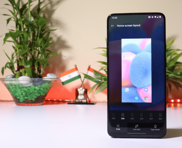 OnePlus Launcher 4.6.4 adds more customization to the home screen grid