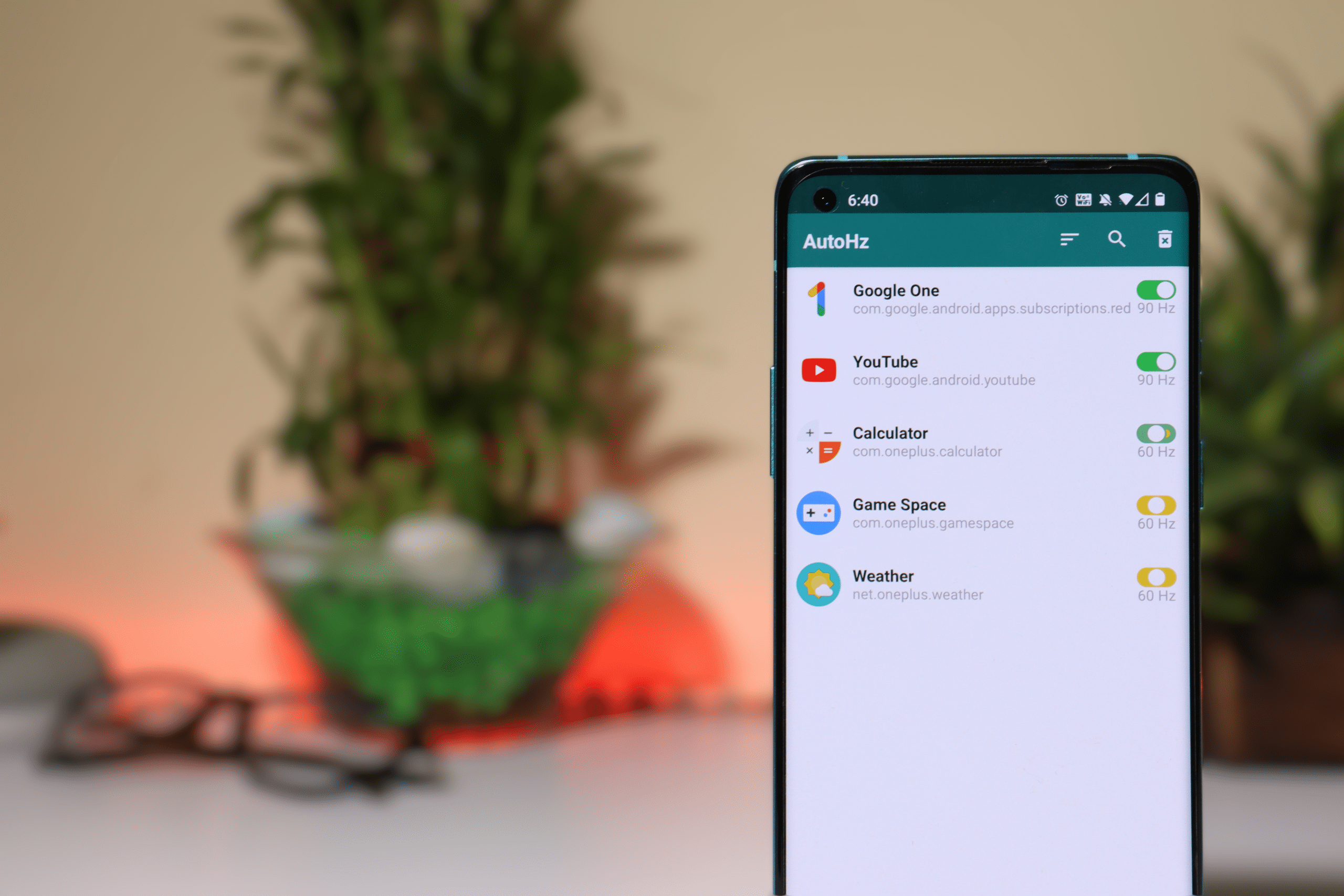 AutoHz lets you control app refresh rate on Oneplus 8 Series