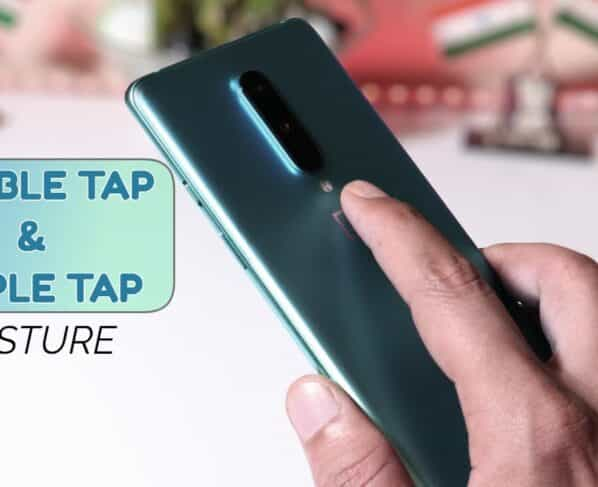 Tap, Tap lets you do a triple tap gesture on the back of your Android phone
