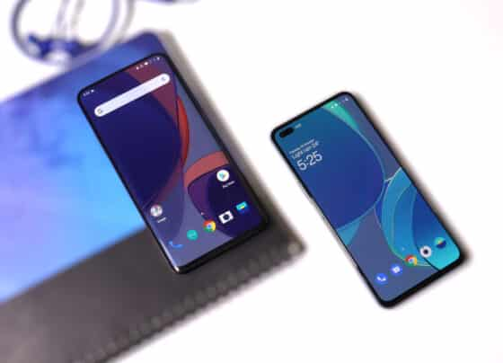Download the OnePlus 8T live wallpapers on any Android device.