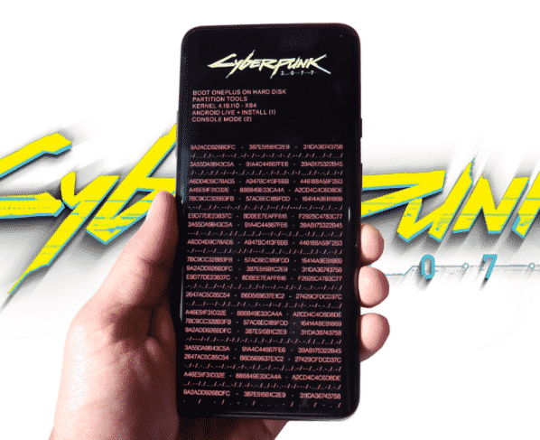 Get OnePlus 8T Cyberpunk 2077 Edition Icon Pack, Live wallpaper & boot animation.