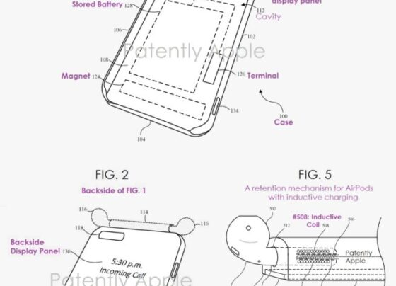 Apple patents new iPhone case that can house and charge AirPods