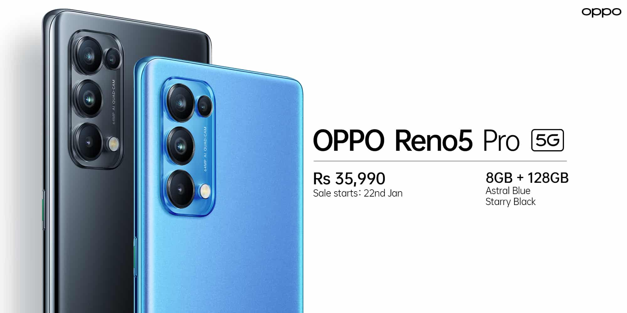 OPPO launches OPPO Reno5 Pro 5G in India