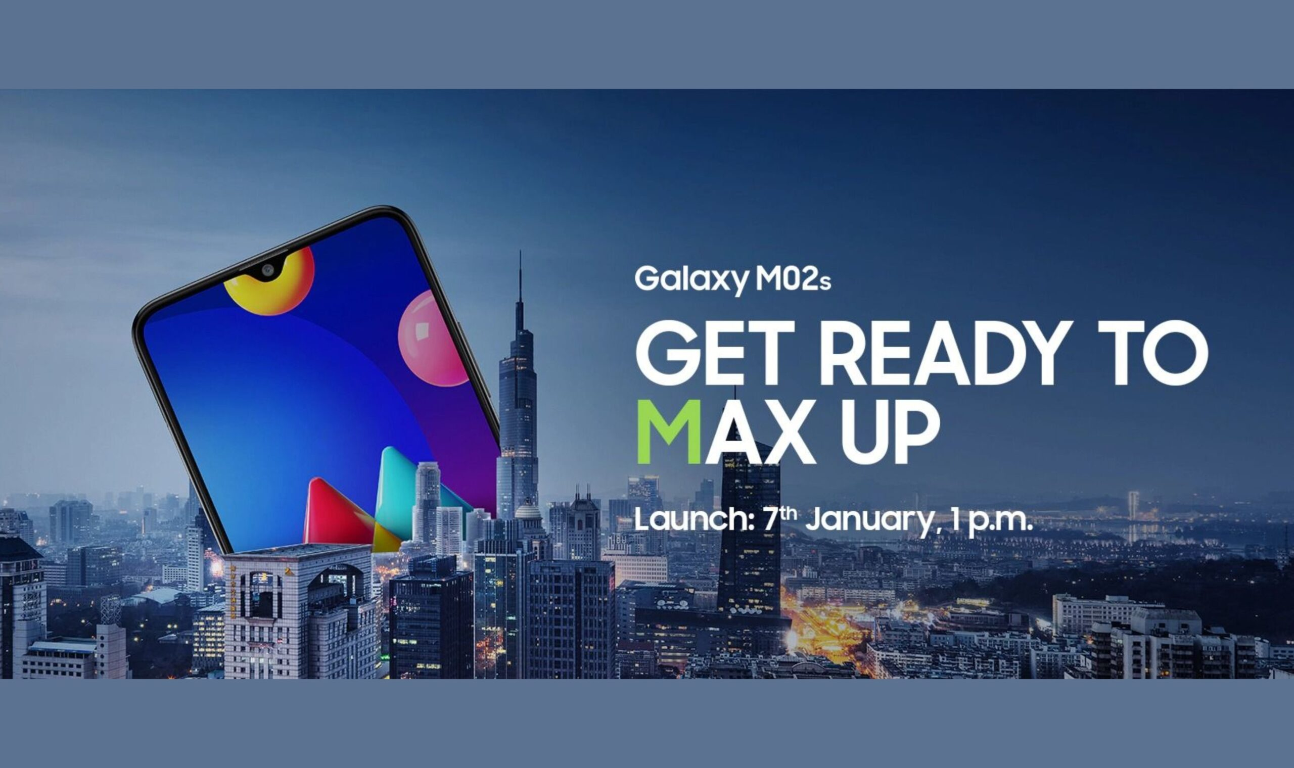Samsung Galaxy M02s with Snapdragon 450 & 5,000mAh battery launched for Rs 8,999