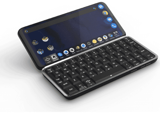 Astro Slide 5G world's first 5G handset with a full QWERTY keypad