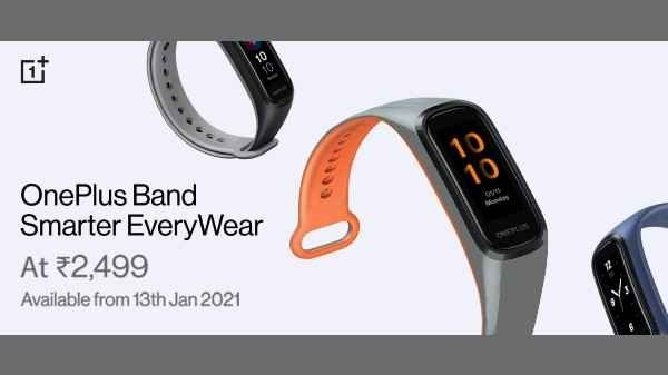 Oneplus Band with AMOLED display, 14-day battery life launched for Rs 2,499