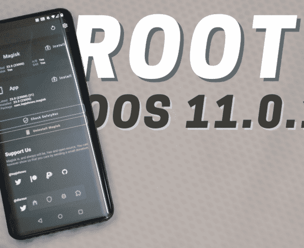 How to Root Oneplus 7 Series running OxygenOS 11.0.1.1