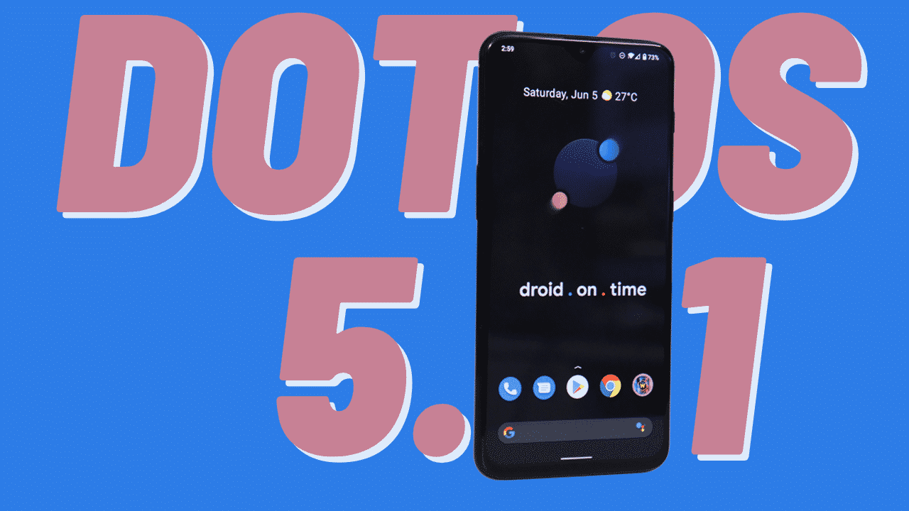 DotOS 5.1 released with a new wallpaper-based theming system and QS UI inspired by Android 12