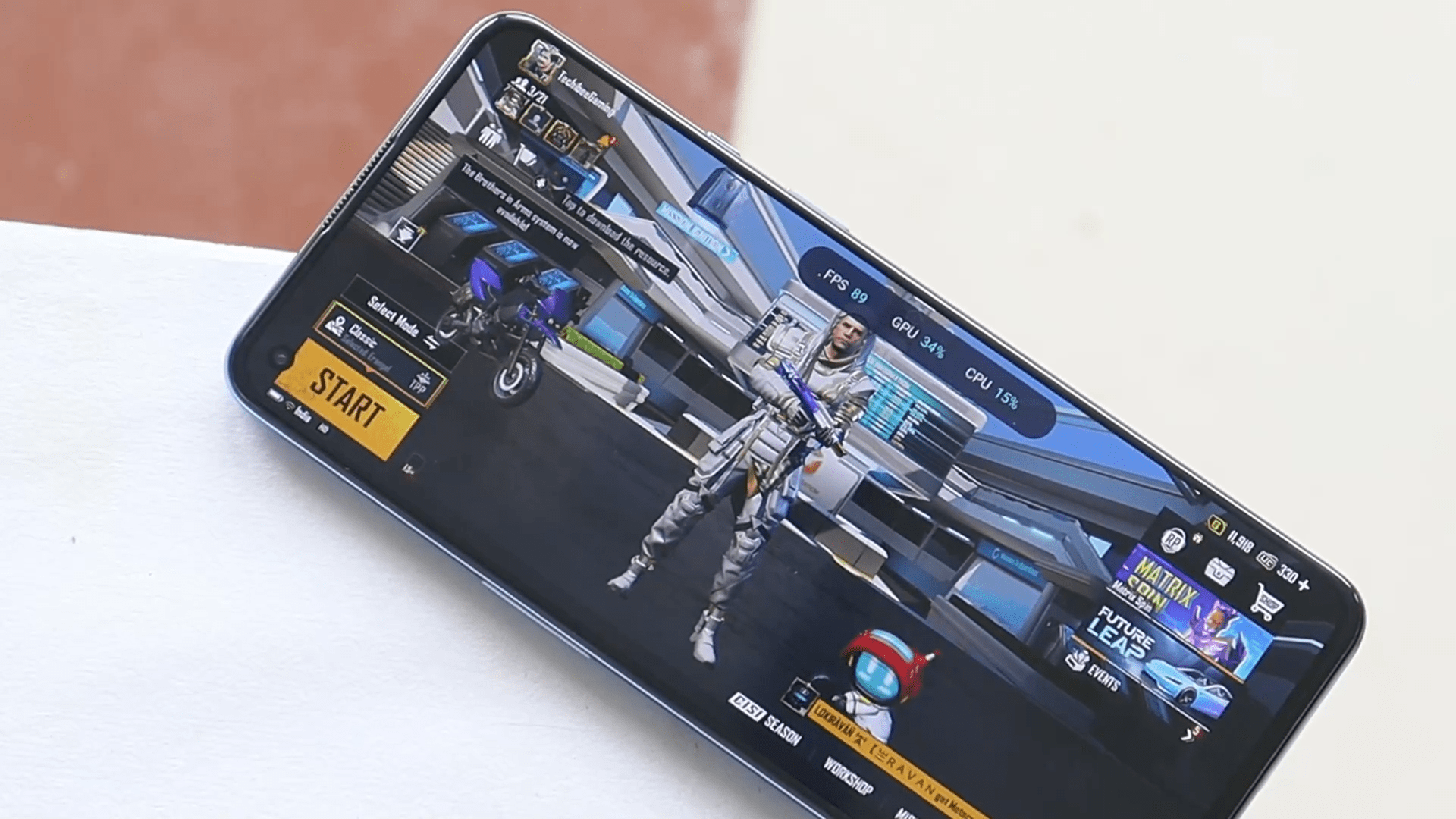 How to enable 90 FPS in Battlegrounds Mobile India On Oneplus phones.
