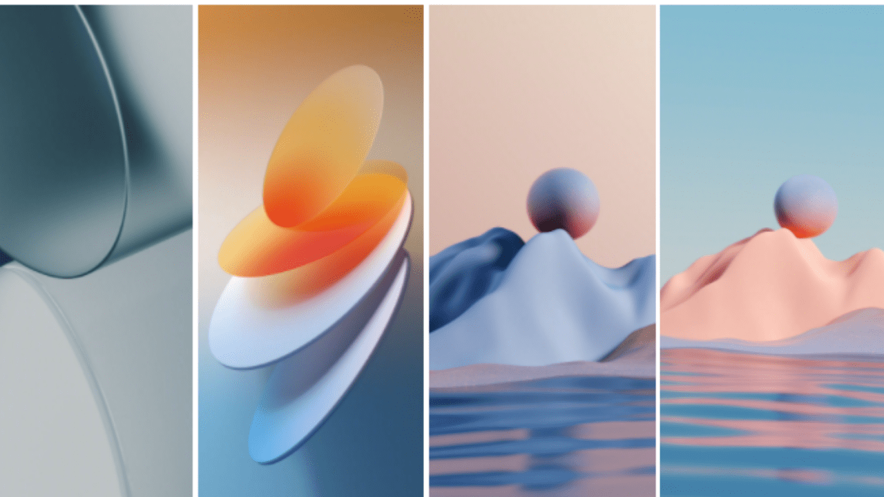 Download OPPO's Color OS 12 wallpapers official rollout