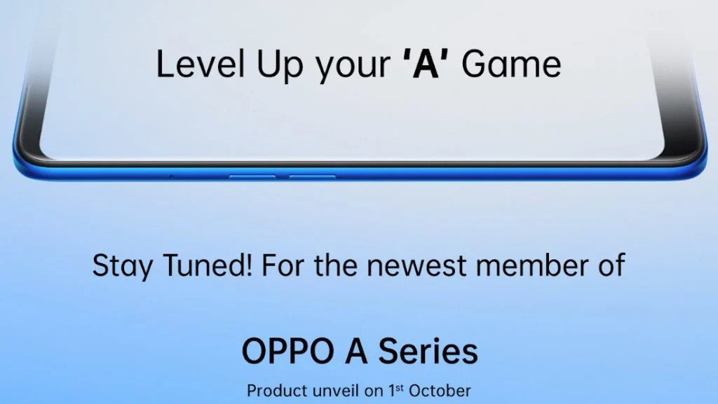 OPPO A55 4G set to launch in India on October 1