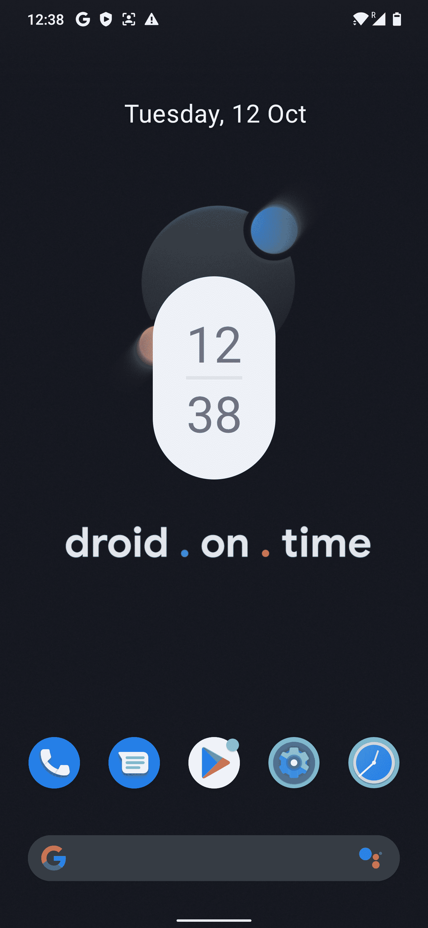 Dot OS 5.2 released with new features inspired by Android 12, including wallpaper-based theming